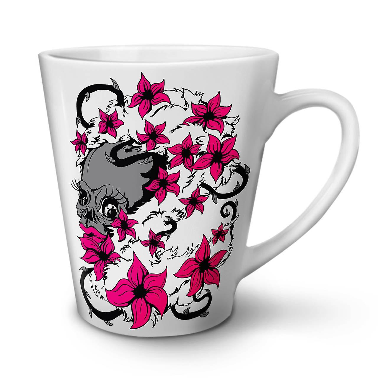 De 12 Face Blanche Crâne Tasse Café Latte En Céramique Nouvelle OzWellcoda Tête tdxsBhCQr
