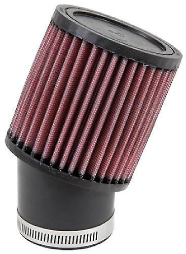 K&N RU-1750 Universal Clamp-On Air Filter  Round Straight; 2.438 in (62 mm) Flange ID; 4 in (102 mm) Height; 3.75 in (95