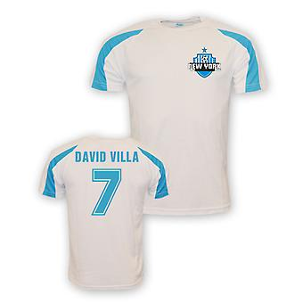 David Villa Maillot Training de New York City sport (blanc)