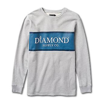 Diamond Supply Co Mayfair Sweatshirt Grau