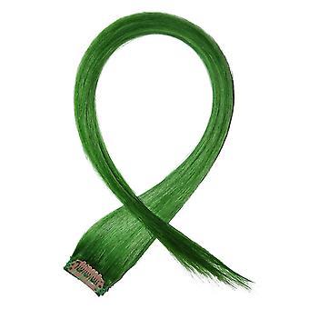 Green - Clip-in Hair Streaks