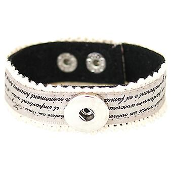 Textile Bracelet For Click Buttons Kb0984