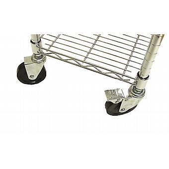 Caraselle Heavy Duty Castors for Chrome Wardrobe Unit & Shoe Rack