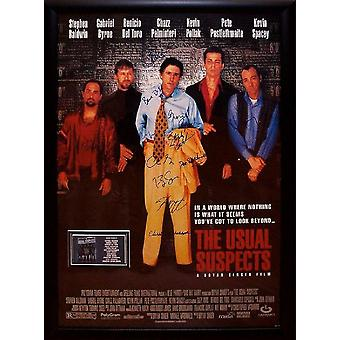 The Usual Suspects - Signed Movie Poster