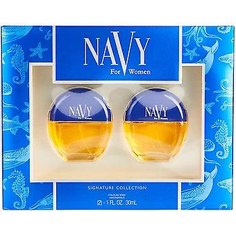 Navy By Dana Cologne Spray 1 Oz (Two Pieces)