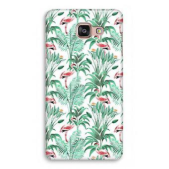 Samsung Galaxy A5 2017 Full Print Case - Flamingo leaves