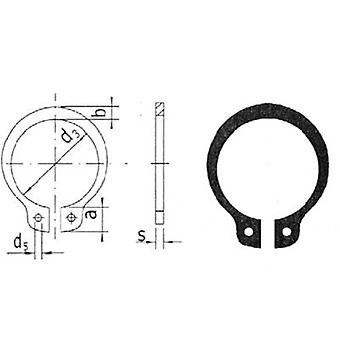 Shaft retaining ring Reely Suitable for shaft diameter: 6 mm 20 pc(s)