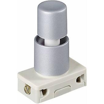 Pushbutton switch 250 Vac 2 A 1 x On/Off interBär