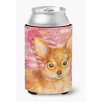 Carolines tesori BB9809CC Toy Terrier amore lattina o bottiglia Hugger
