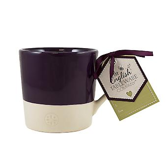 English Tableware Co. Artisan Mug, Blackcurrant