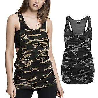 Urban classics ladies - LOOSE camouflage army tank top shirt