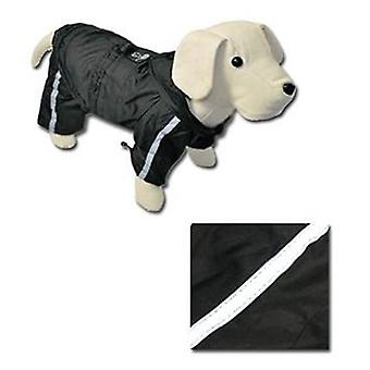 Nayeco Chubasquero Reflectante con Patas Negro 25 cm (Dogs , Dog Clothes , Raincoats)