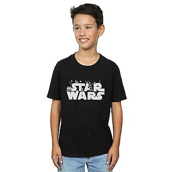 Star Wars Boys Minimalist Logo T-Shirt