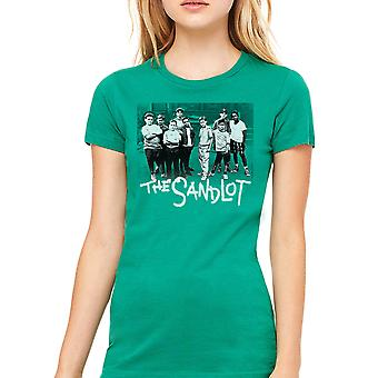 Sand Team kvinders Kelly Grøn T-shirt