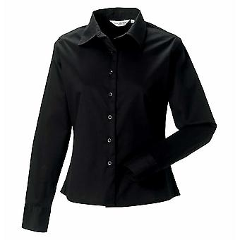 Russell Womens Long Sleeve Classic Twill Shirt