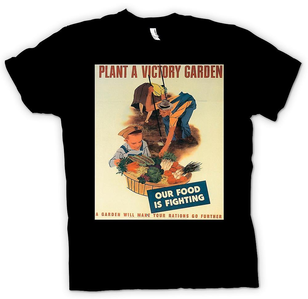 Heren T-shirt - de tuinen van de oorlog - oorlog Poster