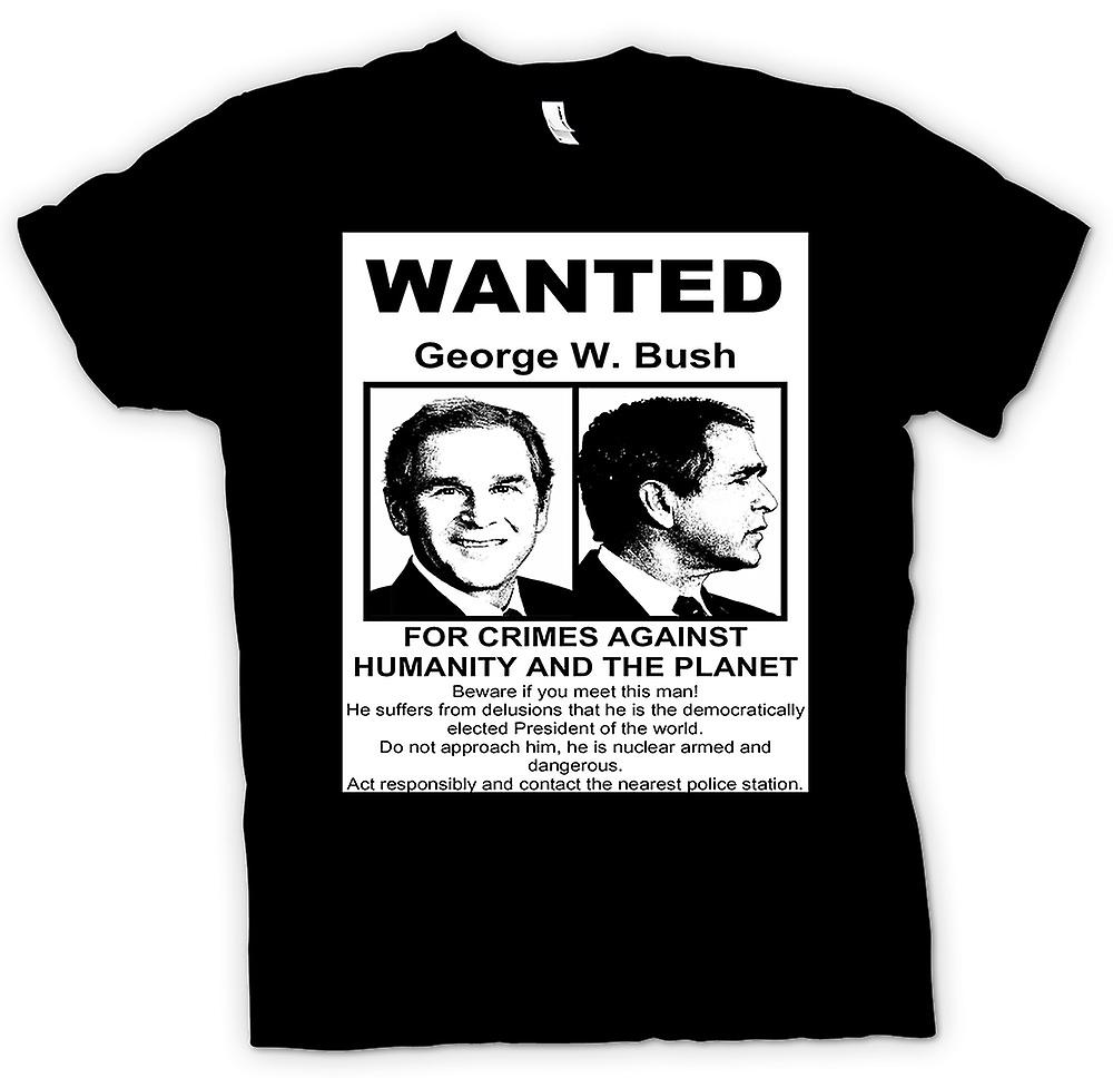 Mens t-shirt-Stati Uniti d'America di George Bush ha voluto