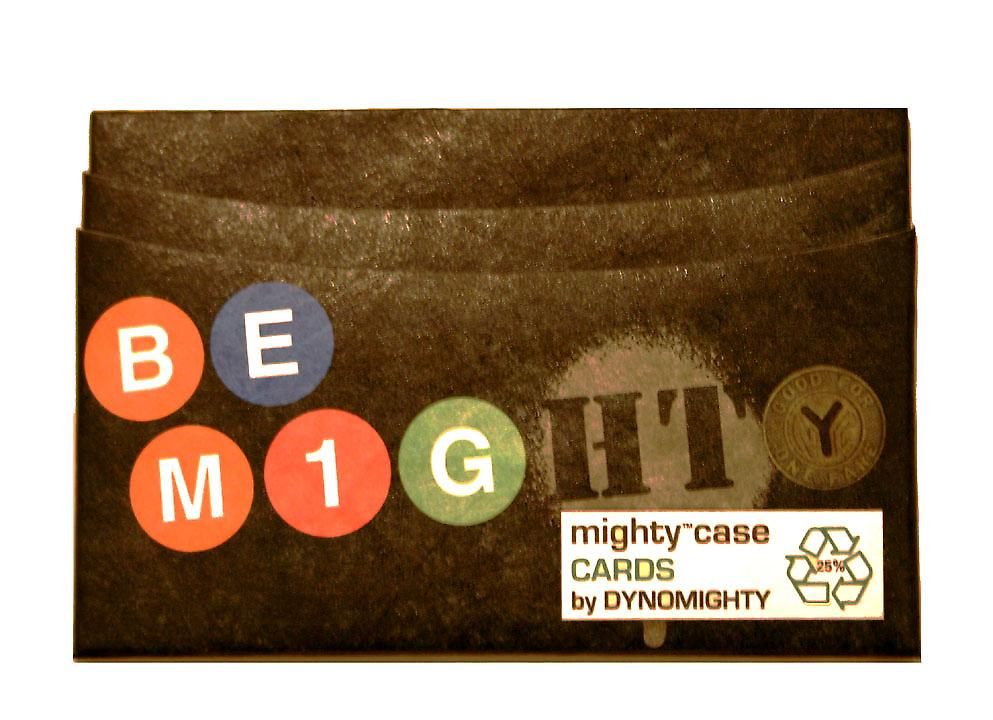Metro Go Mighty Card Case by Dynomighty