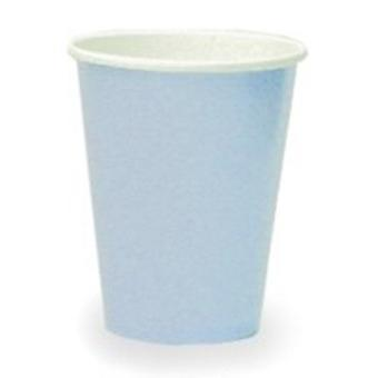 Baby blauw 9oz Paper Cup (8 PK)