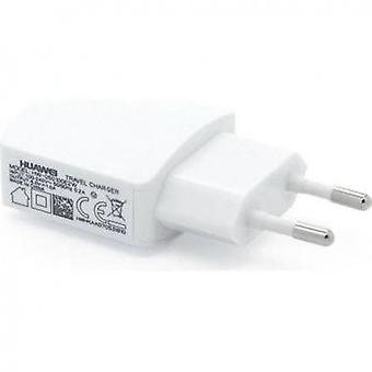 Huawei HW-050100E2W power adapter on the USB travel charger white
