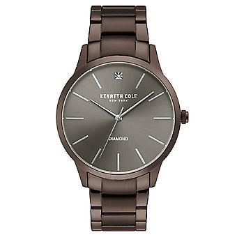 Kenneth Cole New York men's wrist watch analog quartz stainless steel KC15111008