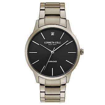 Kenneth Cole New York men's wrist watch analog quartz stainless steel KC15111014