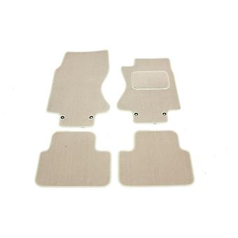 Fully Tailored Car Floor Mats - Jaguar S-TYPE 2002-2007 Beige