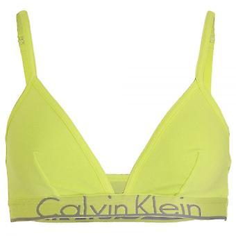 Calvin Klein Women ID Unlined Triangle Bra, Pale Dawn, Small