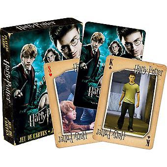 Harry Potter volgorde van de Phoenix-reeks van 52 speelkaarten (+ Jokers) (52419)