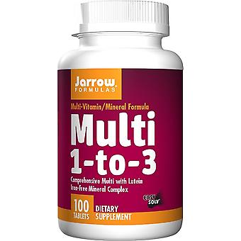 Jarrow Formulas Multi 1-to-3 100 Tablets (Sport , Athlete's health , Multivitamins)