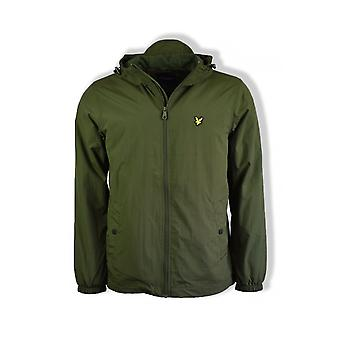 Lyle & Scott Microfleece Lined Zip Through Jacket (Woodland Green)