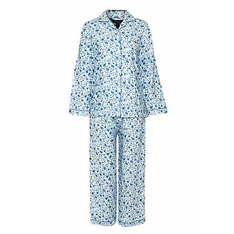 Champion Blue Sea Womens Floral warme Wyncette Baumwolle Pyjama