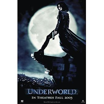 Underworld poster Kate Beckinsale (teaser / on the roof)