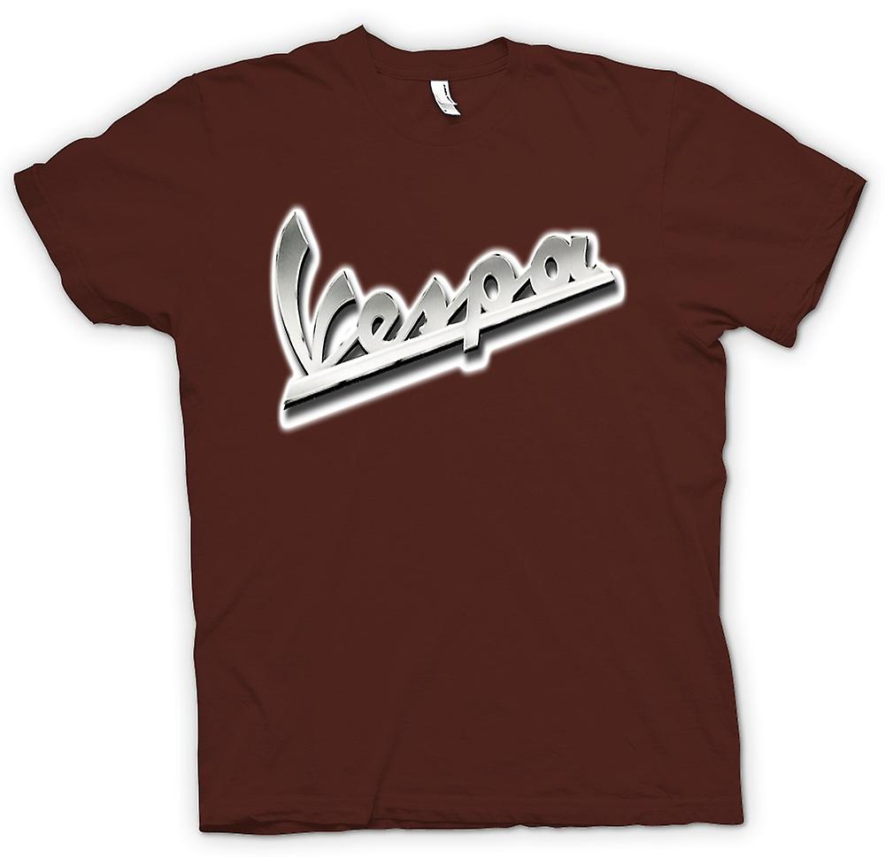 Mens T-shirt - Vespa - Logo - Mod - Scooter