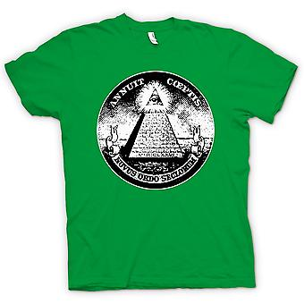 Kids T-shirt - Illuminati - Conspiracy Dollar