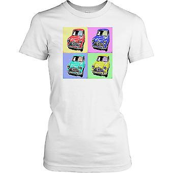 Mini Cooper popart dames T Shirt