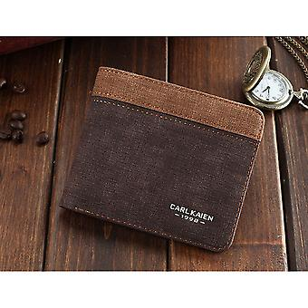 GENUINE PU Leather Wallet Brown Beige White Credit Card Money Purse ID Slot UK