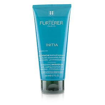 Rene Furterer Initia Refreshing Shower Gel - Soap-Free - Physiological pH (Body & Hair) - 200ml/6.7oz