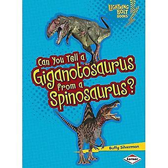 Voitko kertoa Giganotosauruksen Flying Dragon?