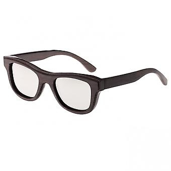 Earth Wood Westport Polarized Sunglasses - Espresso/Silver