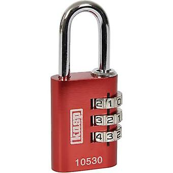 Kasp K10530REDD Padlock 30 mm Red Combination