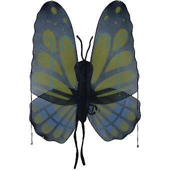 Wings Butterfly Yellow Grn