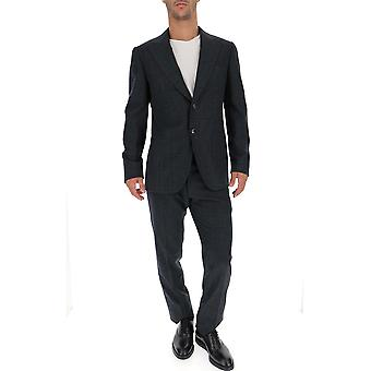 Kiton Grey Wool Suit