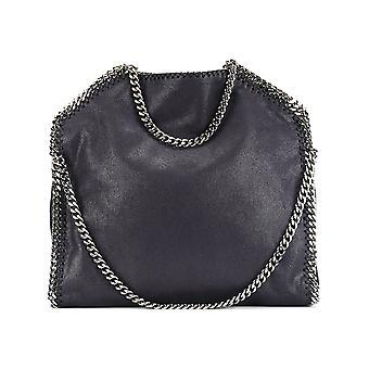 Stella Mccartney Falabella Blue Faux Leather Handbag