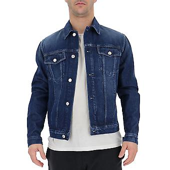Givenchy blå bomuld overtøj jakke