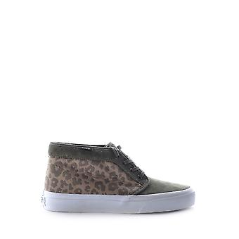 Vans California Ik480f Leopard Fabric Hi Top Sneakers