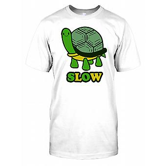 Slow - Tortoise Mens T Shirt