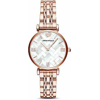 Emporio Armani damskie damskie nadgarstka zegarek ze stali nierdzewnej AR11110