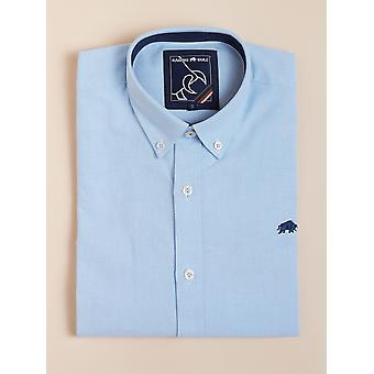 Long Sleeve Signature Oxford Shirt - Sky Blue