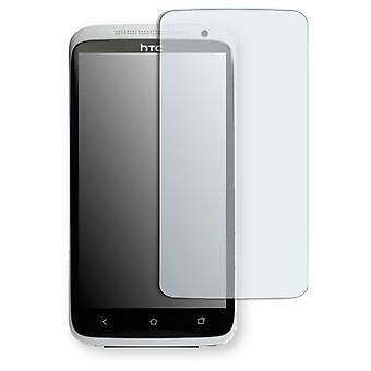 HTC one XL screen protector - Golebo crystal-clear protector (miniature sheet)